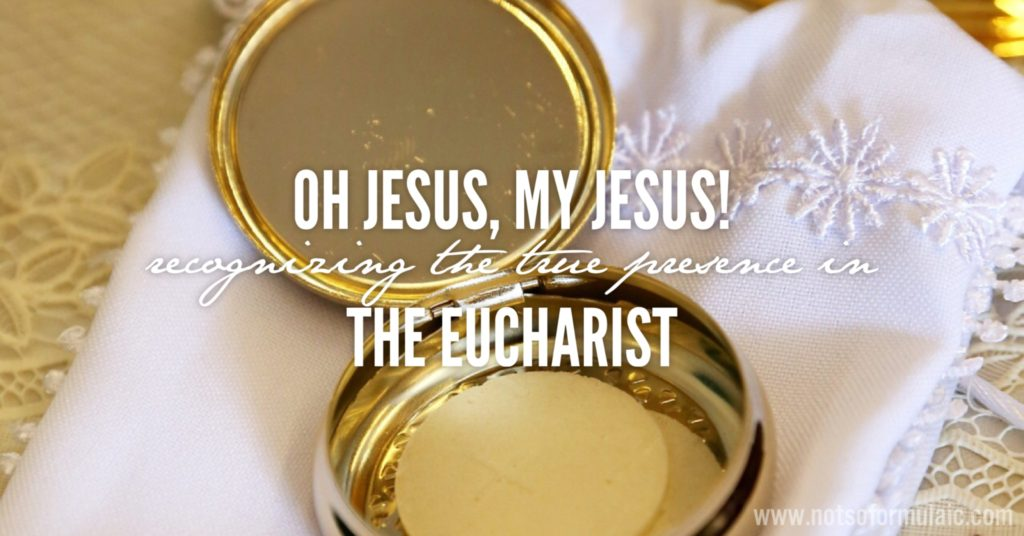 Finding the true presence in the Eucharist