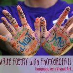 Photograffiti: using language as a visual art