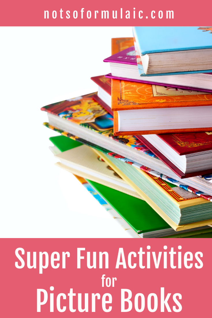 Picture books aren't just for kids. I've got five fun picture book activities for all ages - even grown-ups - that help you learn to think creatively, read critically, and communicate boldly.