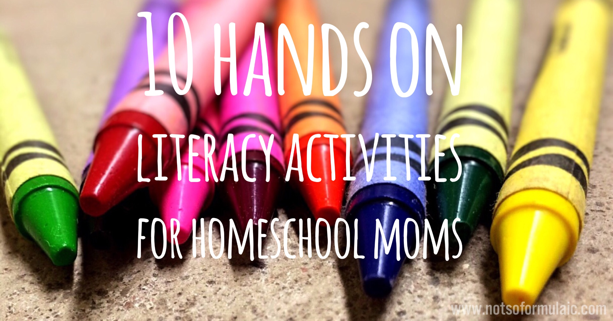 10 hands on literacy activities