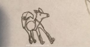 Fox wordimal - doodles that make meaning