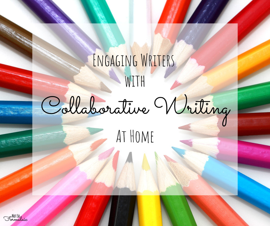 collaborative writing In collaborative writing, students would do their own thinking and writing first and then connect with others to provide and receive feedback for improvement or, as is the case with the collaborative story-writing ideas that we'll be discussing, there is explicit space made for students to first use their own intellectual abilities.