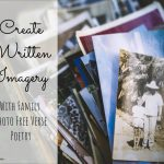 Creating written imagery with family photos