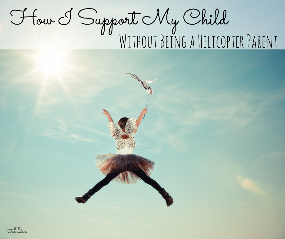 Helicopter parenting is a knee-jerk reaction. We want our children to succeed. We want them to recognized for their talents and abilities. But it has to be through their own merits, not through our manipulation. Here's how I learned to get off the chopper and let my kids take flight instead.
