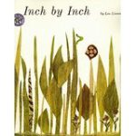 Inch by Inch by Leo Lionni.  Learn about measurement (and courage) in this beautiful book featured on What to Read Wednesday.