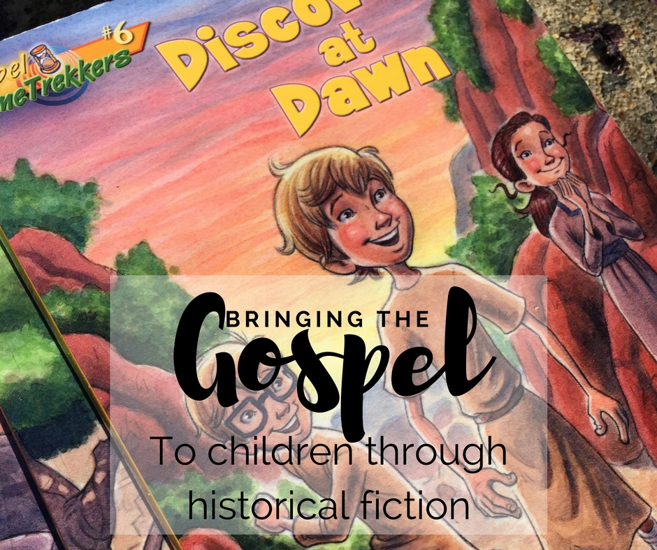 The Gospel Time Trekkers series is a great way to bring the Gospel to children