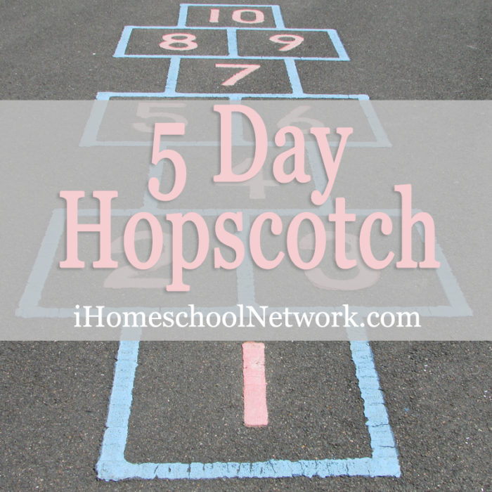 iHomeschool Network 5 day hopscotch
