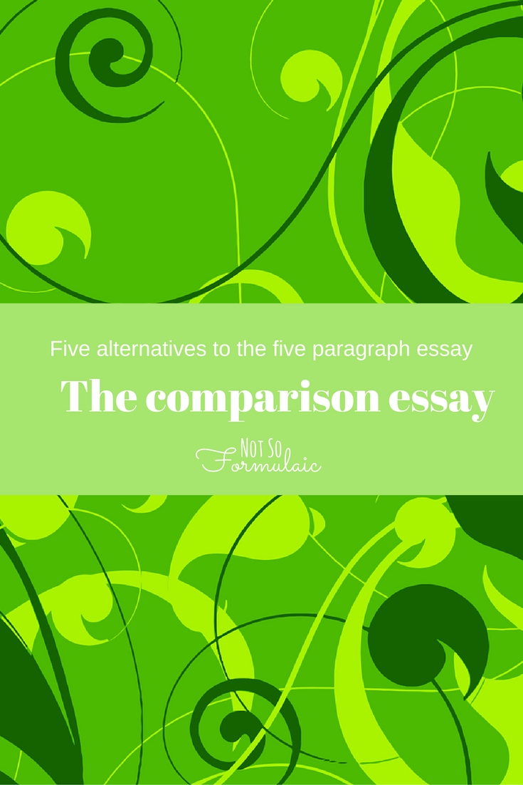 writing for life paragraphs and essays best ideas about paragraph  five alternatives to the five paragraph essay writing the the comparison essay one of five alternatives