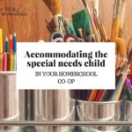 Six tips for accommodating the special needs child in your homeschool co-op