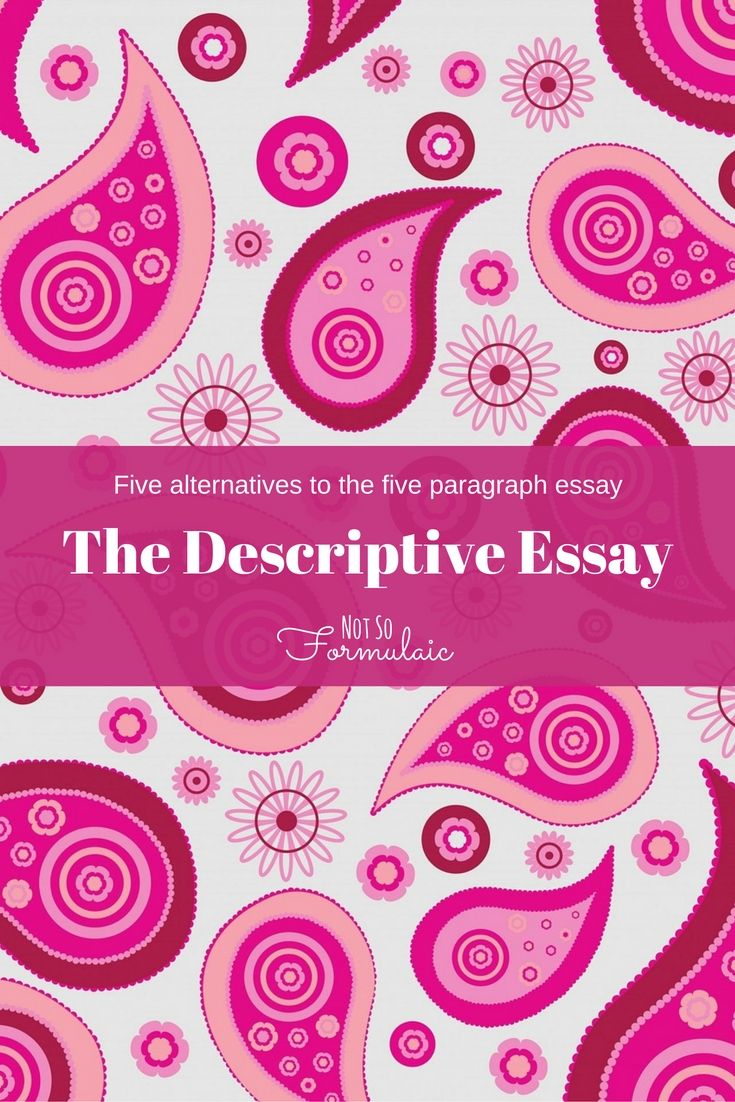 village descriptive essays A walk in the park living  a descriptive essay is a form of academic writing that is built around a detailed description of a person, building, place,.