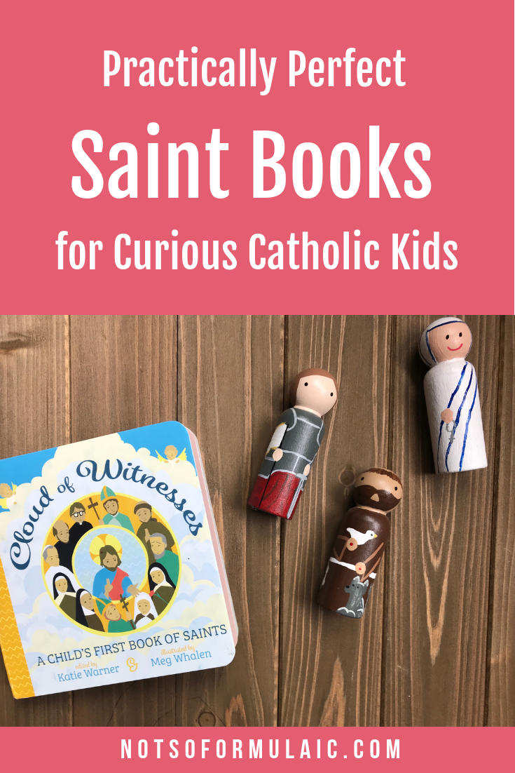 Our children need positive role models.  Fortunately, we need to look no further than the saints. Check out this collection of saint books for Catholic kids, the perfect resources for building your child's patron saint posse.
