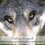 Finding her pack: intellectual peers and community in a gifted child's life