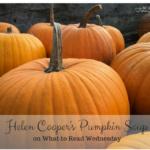 Helen Cooper's Pumpkin Soup (What to Read Wednesday)