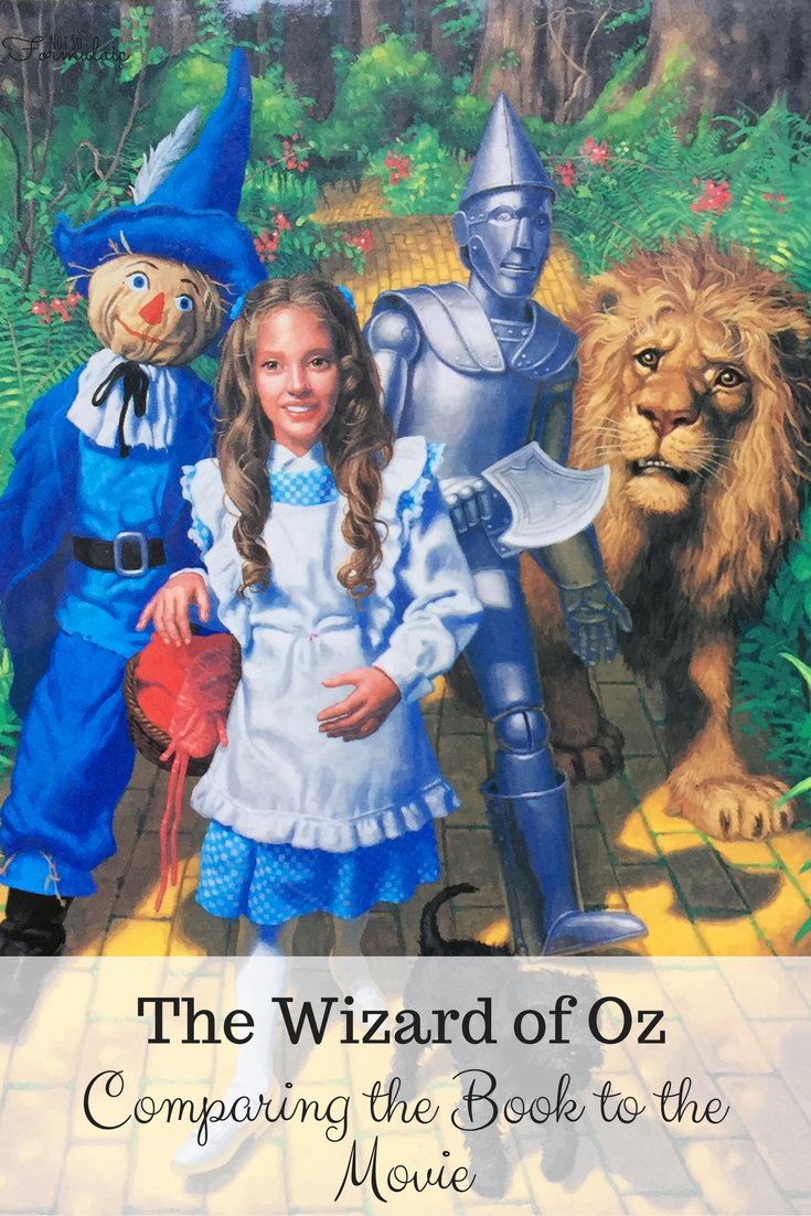 Book and a Movie: The Wizard of Oz (What to Read Wednesday)