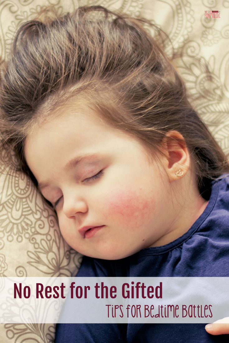 Night time parenting with gifted children is not for the faint of heart. With a little time and a few strategies, though, everyone will be on the path to better sleep.