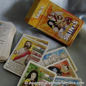 Arma Dei's Super Saints Trading Cards - a fun, faith-filled alternative to secular trading card games