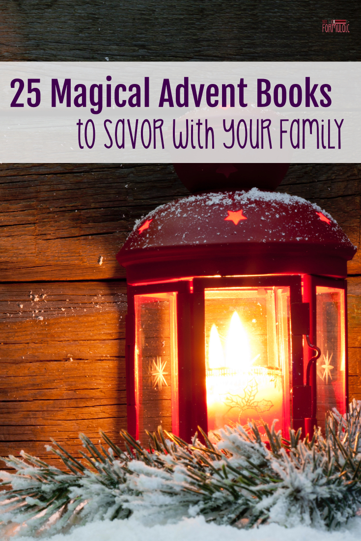 I'm sharing 25 magical books you'll want to savor  - a great way to disconnect from the hustle and bustle of the secular holiday season.