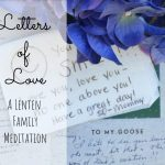 Letters of Love: A Lenten Meditation for Families