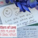 Letters of Love: A Lenten Meditation for Catholic Families