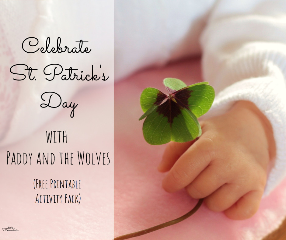 Celebrate St. Patrick's Day with Paddy and the Wolves (Free Activity Pack)