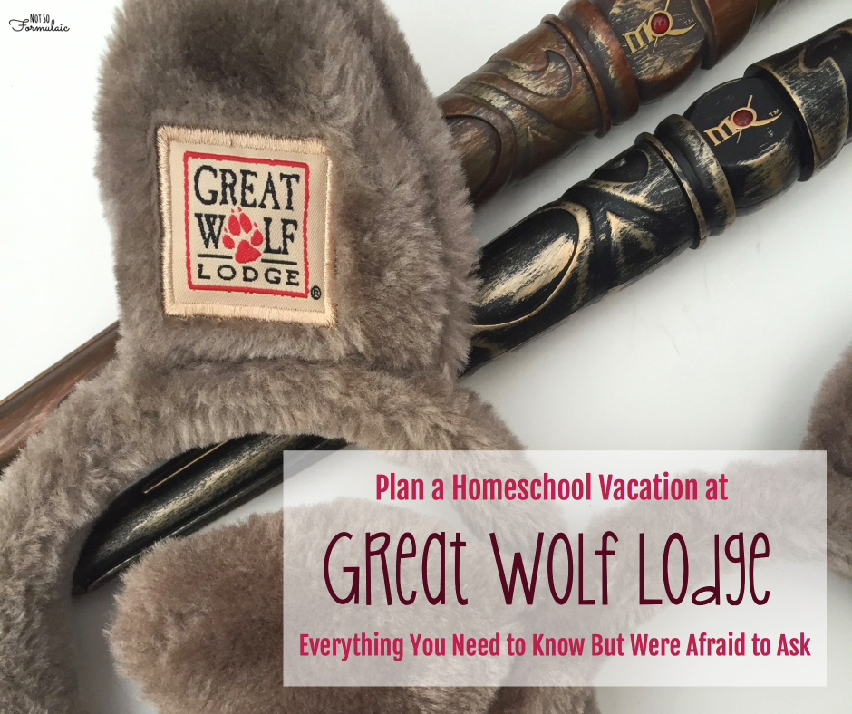 Plan a Homeschool Vacation at Great Wolf Lodge