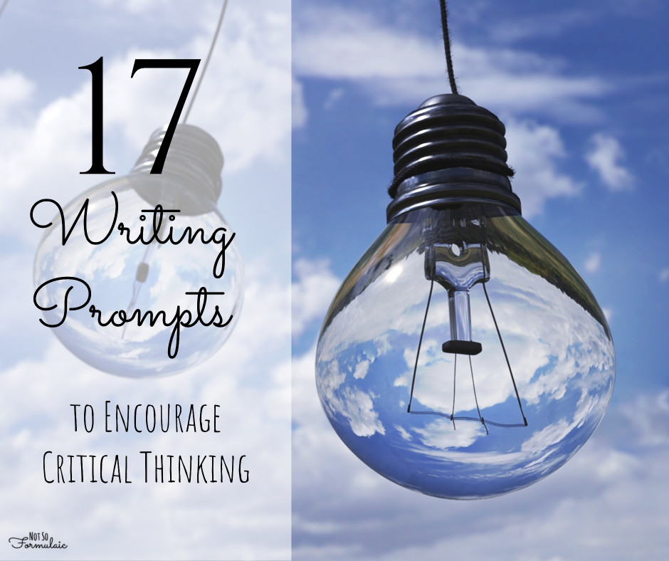 Critical thinking matters, especially when it comes to defending convictions and upholding the truth. Here's what it means to think critically, plus 17 writing prompts to encourage critical thinking.