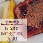 She Brought Me Peanut Butter and Banana: The Gift of Twice Exceptional Children