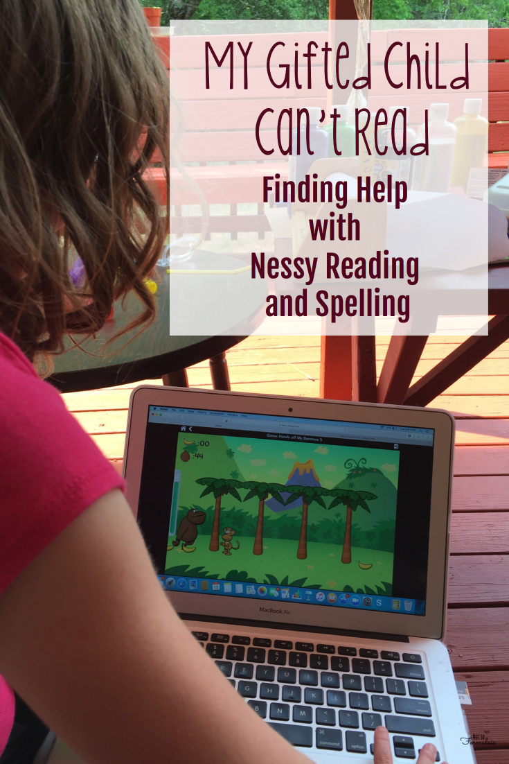 My gifted child struggles with reading, but we found help with Nessy Reading and Spelling