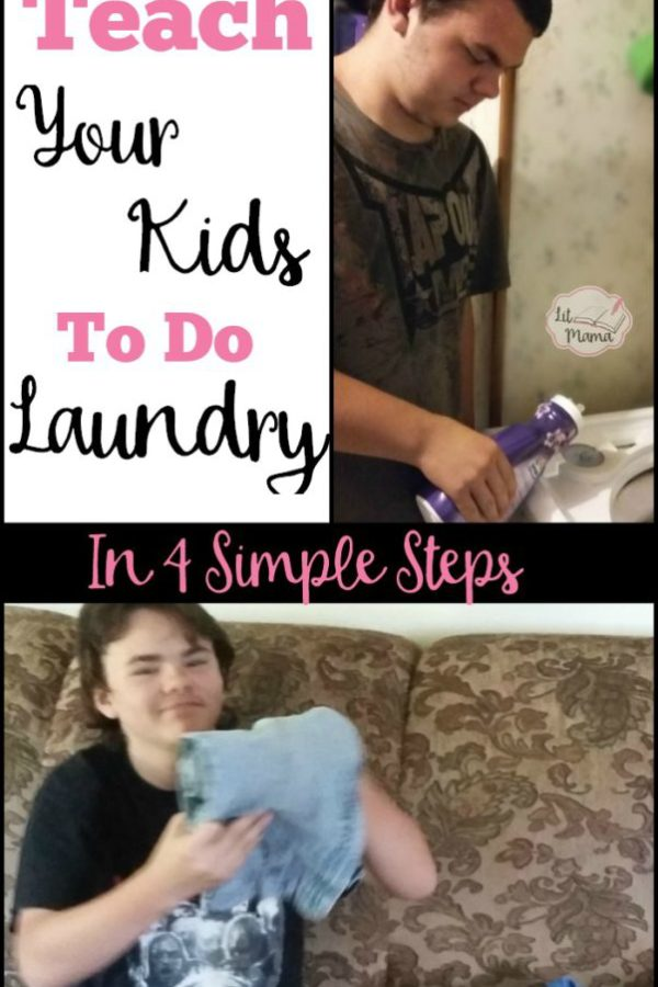 Screen-free Summer Life Skills Bingo: Teach Your Kids to do Laundry in 4 Simple Steps
