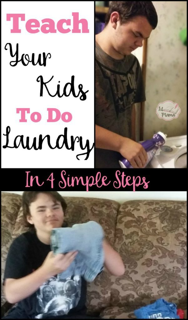 Teach your kids to do laundry in 4 simple steps - part of this summer's screen-free life skills bingo!