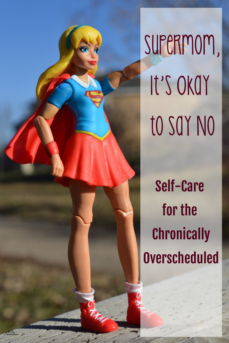 Are you chronically over scheduled? Do you struggle with self care? I do, too, supermom. Let's figure it out, together.