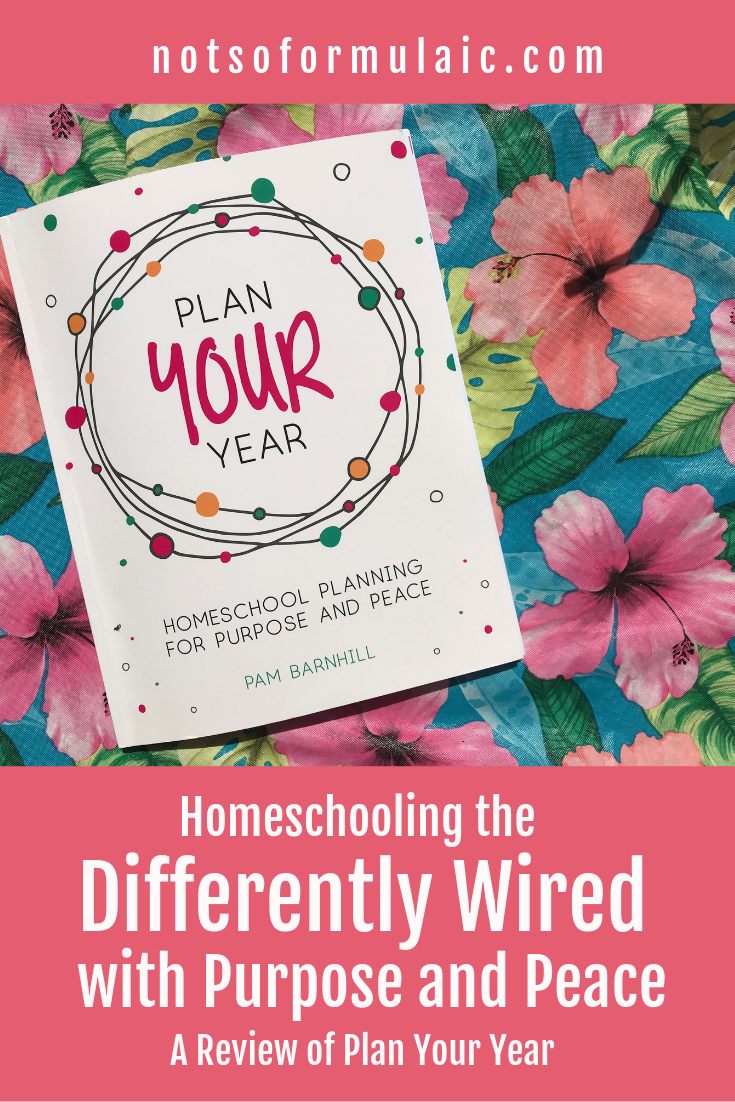 Homeschooling differently-wired kids isn't always a peaceful or purposeful endeavor. Plan Your Year is a homeschool planning resource guide perfect for families raising and teaching quirky, talented, differently-wired kids.