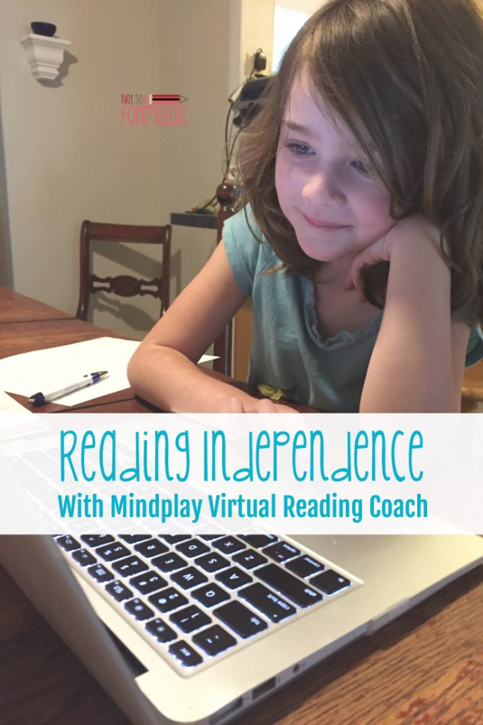 Do you have a child who struggles with reading? Get her on the road to reading independence with MindPlay Virtual Reading Coach.
