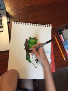 Online Art Lessons Embrace Creativity – Not Perfection