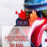 Car Maintenance for Kids: Screen-free Summer Life Skills Bingo