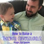 How to Raise a Thoughtful Conversationalist (Screen-free Summer Life Skills Bingo)