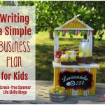 Life Skills 101 (Writing a Simple Business Plan)
