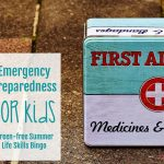Emergency Preparedness for Kids (Screen – free Summer Life Skills Bingo)