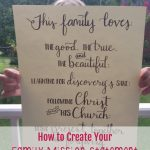 How To Create a Family Mission Statement