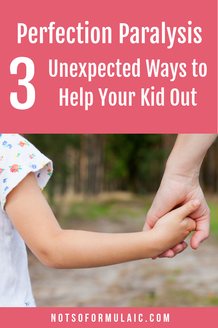 Perfectionism can paralyze our children, and our response is what matters the most in the end. Here are 3 unexpected ways to pull your kids from the struggle and move toward perfect effort instead.
