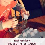 Teach Your Kids to Prepare a Meal (Screen-free Summer Life Skills Bingo)