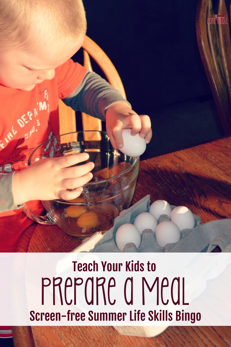 Ready to hand off the reins in the kitchen? Want to teach your kids to prepare a meal? Alicia from Sweeping Up Joy has you covered.