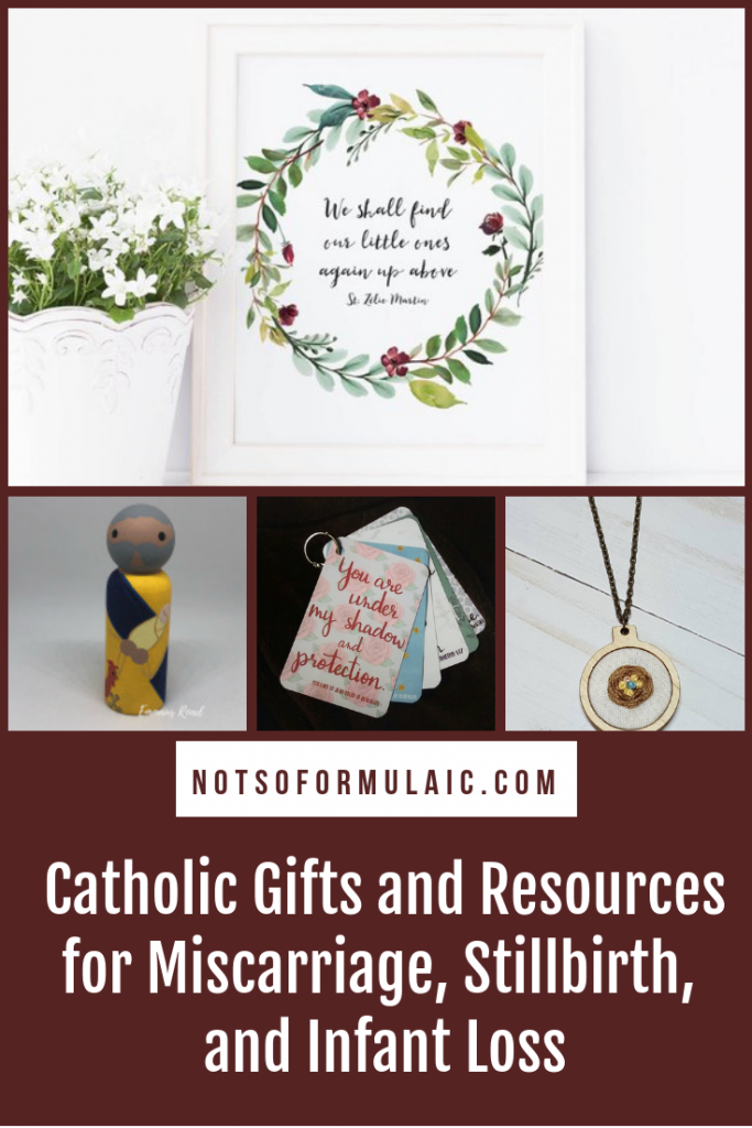Words Of Encouragement After Miscarriage: A Catholic Collection Of Gifts And Resources For Pregnancy