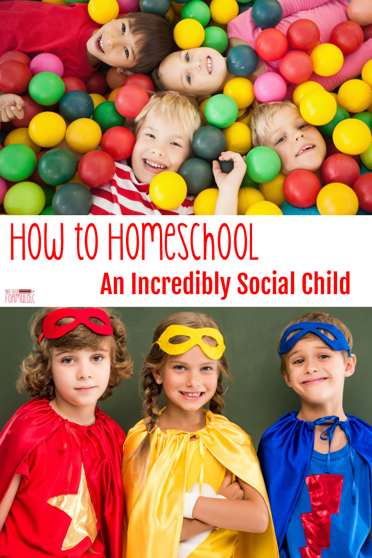 Homeschooling a social child? Flexibility and ingenuity are key. A little social fuel for the extrovert's fire sure can go a long way.