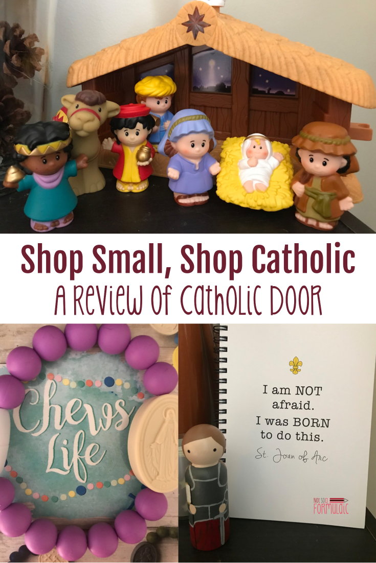 Are you a fan of online shopping, but want a way to shop Catholic and shop small? Check out this family-based online retailer Catholic Door, a business with a heart for ministry.