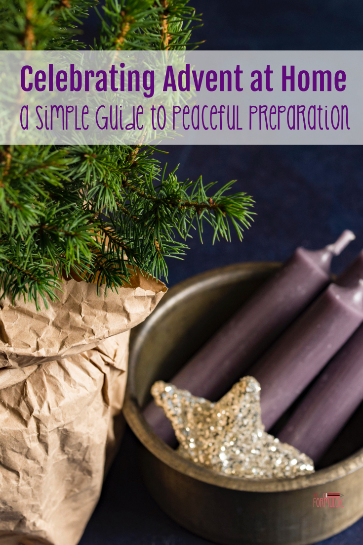 Are you praying for a peaceful Advent? Are you looking for simple ways to celebrate Advent at home? Look no further - I've got you covered with this simple guide to peaceful preparation.