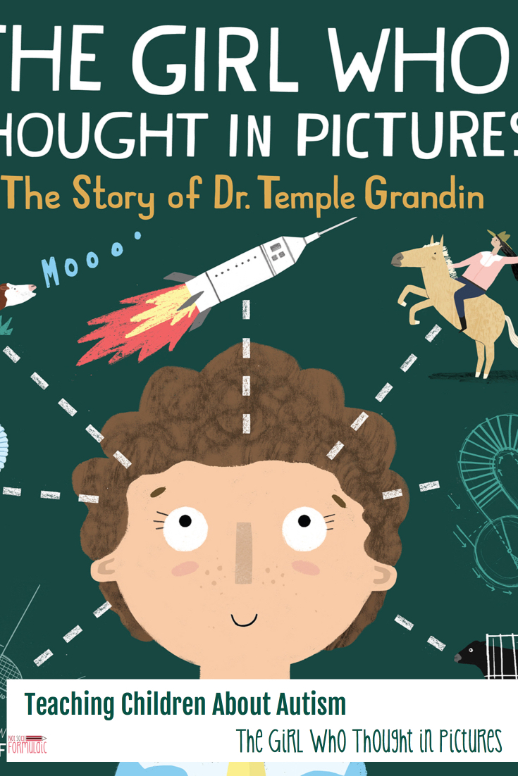 Teaching children about Autism is a necessary and vital endeavor. The Girl Who Thought in Pictures is a valuable tool for parents, sharing the story of Temple Grandin with accessibility and love.