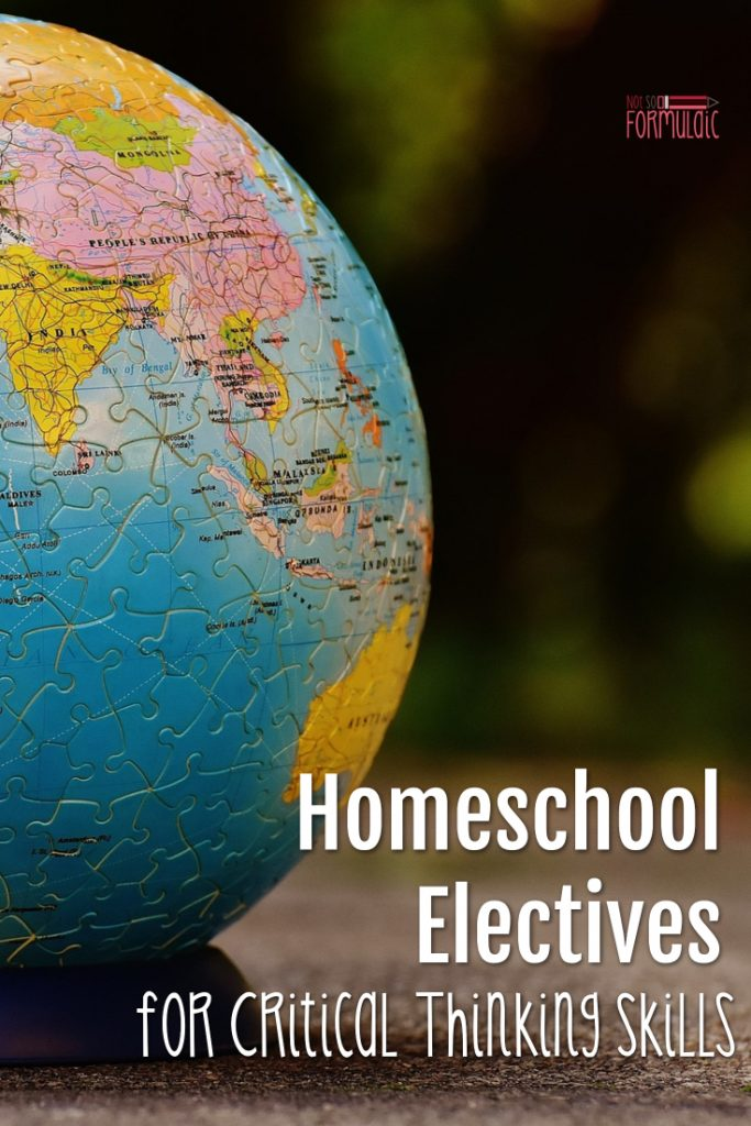 Critical thinking skills matter, and we need to teach them to our kids. If you're a homeschool parent looking for critical thinking electives, the Homeschool Buyers Co-op has you covered.