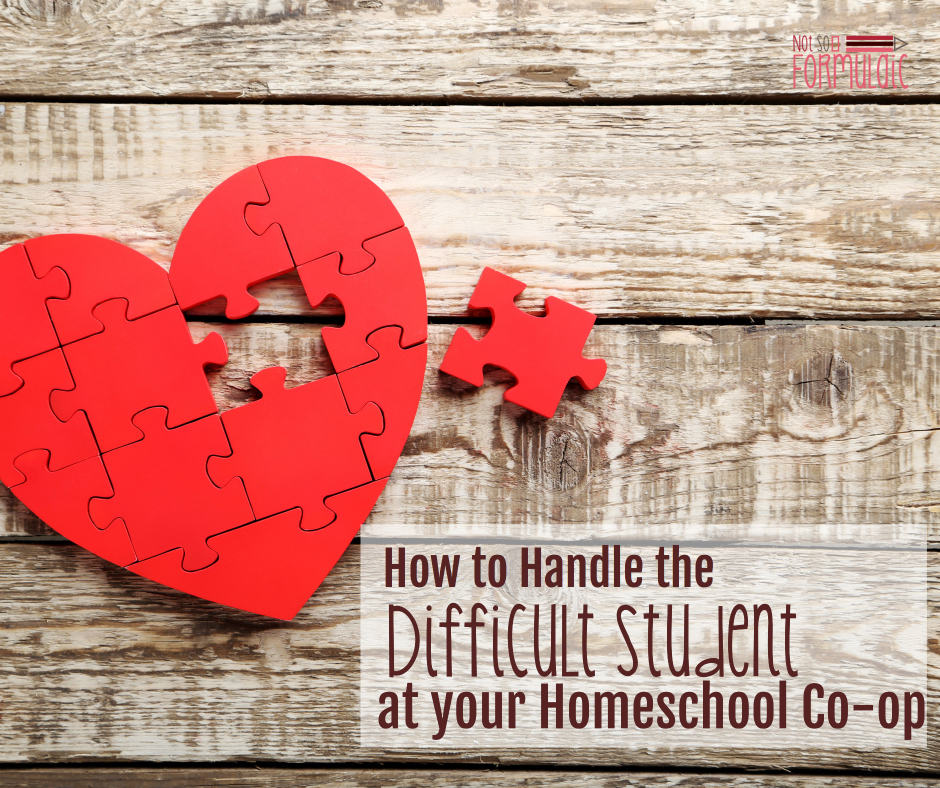How to handle the difficult student at your homeschool co-op