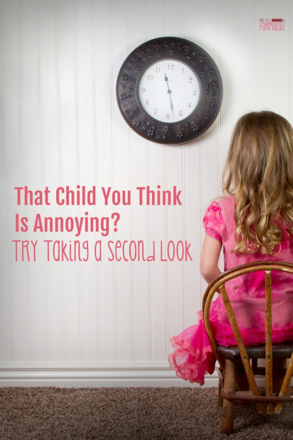 That Kid You Think Is Annoying? Try Taking a Second Look. (Why Perception and Reality Matter When You're Parenting Gifted Kids)